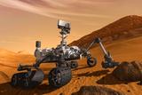 NASA Mars Curiosity Rover Spacecraft Plastic Sign - Plastik Tabelalar