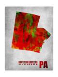 North Liberties Pennsylvania Prints by  NaxArt