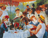 Luncheon Of The Boating Party Giclee Print by Pierre Auguste Renoir