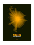 Moscow Radiant Map 2 Prints by  NaxArt
