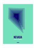 Nevada Radiant Map 3 Prints by  NaxArt