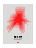 Atlanta Radiant Map 1 Poster by  NaxArt