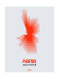 Phoenix Radiant Map 4 Prints by  NaxArt