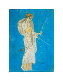 Pompeii Fresco I Posters by  The Vintage Collection