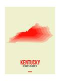 Kentucky Radiant Map 1 Prints by  NaxArt
