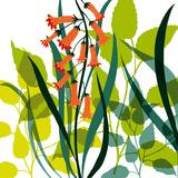 Flower Applique II Giclee Print by Laure Girardin-Vissian