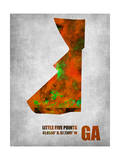 Little Five Points Georgia Posters by  NaxArt