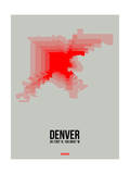 Denver Radiant Map 1 Posters by  NaxArt