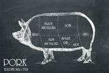 Butcher's Guide IV Kunstdrucke von  The Vintage Collection