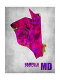 Hampden Maryland Print by  NaxArt