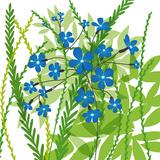 Flower Applique III Giclee Print by Laure Girardin-Vissian