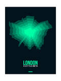 London Radiant Map 1 Posters by  NaxArt