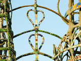 Details of the Watts Tower, Watts, Los Angeles, California, USA Photographic Print by Green Light Collection