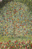 Gustav Klimt (Apple Tree) Plastic Sign Plastic Sign