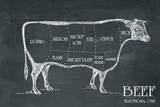 Butcher's Guide III Schilderij van  The Vintage Collection