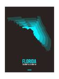 Florida Radiant Map 6 Prints by  NaxArt