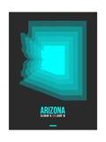 Arizona Radiant Map 5 Prints by  NaxArt