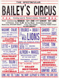 Baileys Circus Prints