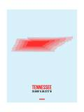 Tennessee Radiant Map 3 Prints by  NaxArt