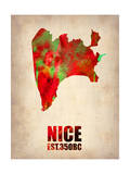 Nice Watercolor Poster Prints by  NaxArt