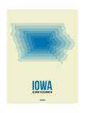Iowa Radiant Map 1 Posters by  NaxArt