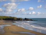 Bunmahon Beach, the Copper Coast, County Waterford, Ireland Photographic Print by Green Light Collection