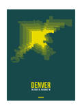 Denver Radiant Map 3 Prints by  NaxArt
