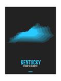 Kentucky Radiant Map 5 Prints by  NaxArt