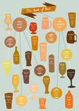 The Best of Beer Posters by Clara Wells