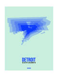 Detroit Radiant Map 1 Prints by  NaxArt