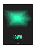 Iowa Radiant Map 5 Prints by  NaxArt