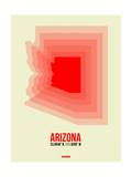 Arizona Radiant Map 1 Posters by  NaxArt