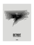 Detroit Radiant Map 5 Prints by  NaxArt