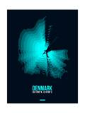 Denmark Radiant Map 2 Prints by  NaxArt