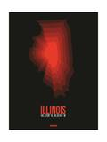 Illinois Radiant Map 6 Art by  NaxArt