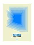 Arizona Radiant Map 2 Prints by  NaxArt