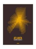 Atlanta Radiant Map 4 Prints by  NaxArt