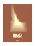 Idaho Radiant Map 2 Posters by  NaxArt