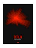 Berlin Radiant Map 2 Prints by  NaxArt