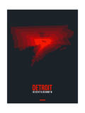 Detroit Radiant Map 3 Art by  NaxArt