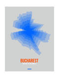 Bucharest Radiant Map 2 Posters by  NaxArt