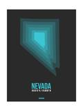 Nevada Radiant Map 5 Prints by  NaxArt
