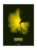 Denmark Radiant Map 1 Posters by  NaxArt