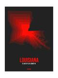 Louisiana Radiant Map 4 Posters by  NaxArt