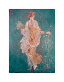 Pompeii Fresco II Poster by  The Vintage Collection