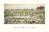Peel Park, Salford Prints by Laurence Stephen Lowry