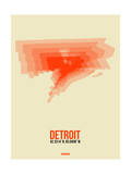 Detroit Radiant Map 2 Posters by  NaxArt