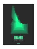 Idaho Radiant Map 5 Art by  NaxArt