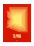 Arizona Radiant Map 3 Poster by  NaxArt