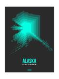 Alaska Radiant Map 5 Prints by  NaxArt